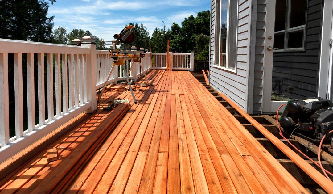 Stain Cedar Deck Boards Before Install